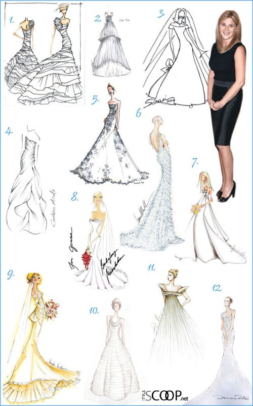 dress designs sketches. potential dress designs.