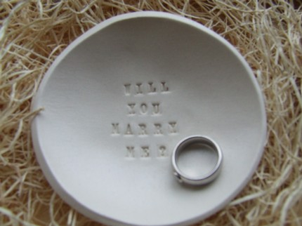 The message is in the bowl