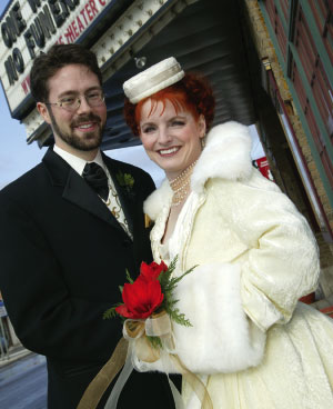 Bridal muff