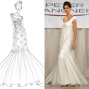 Wedding Dress Style Sketches