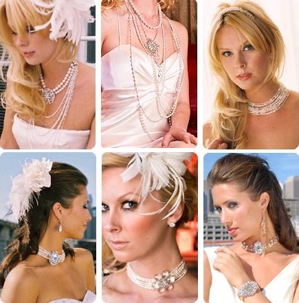 On the chance you have not yet bought your bridal jewelry, here are six