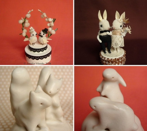 wedding cake toppers by jennifer murphy