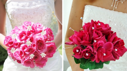 bridal bouquet jewelry