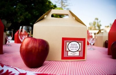 barbecue wedding favors