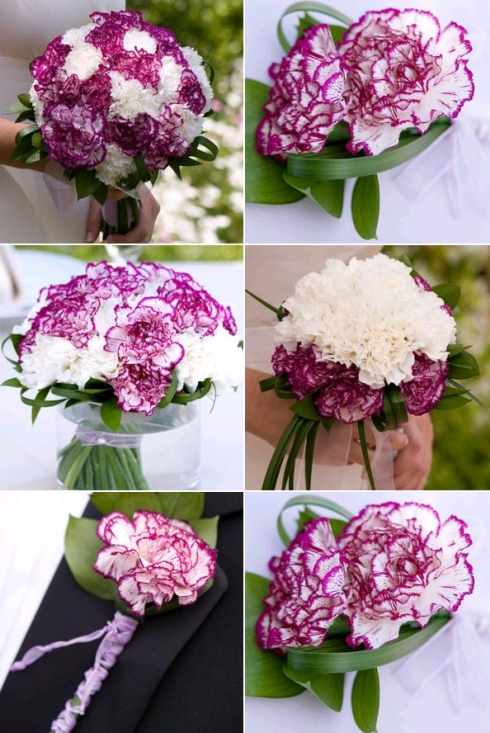 silk wedding flower