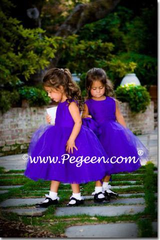 purple-flower-girl-dresses