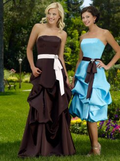 gathered_bridesmaid_dress