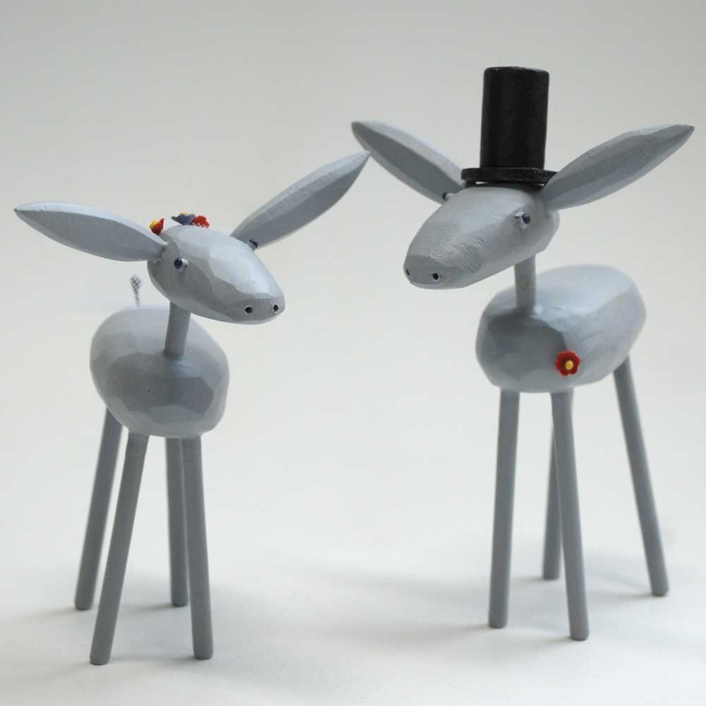 donkey-cake-toppers