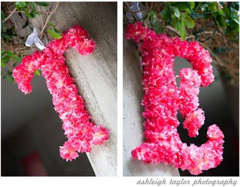 flower initials