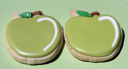 green apple cookies