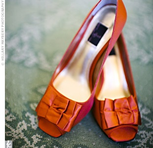 orangeweddingshoes