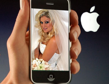 iphone wedding
