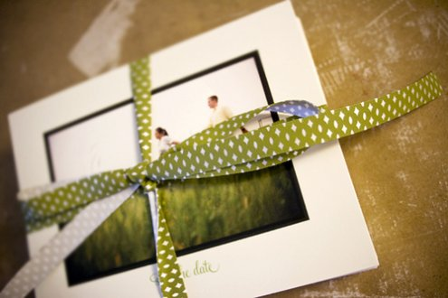 save-the-date cards this paper ship