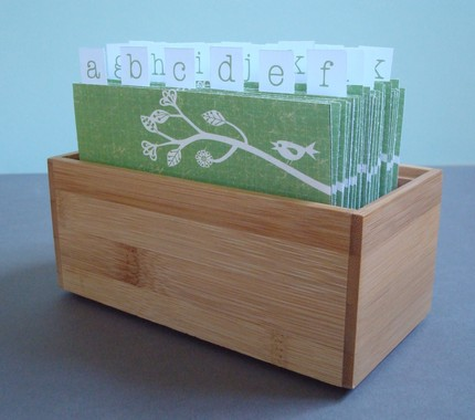 wedding guestbook box The wooden address card boxes hold twentysix