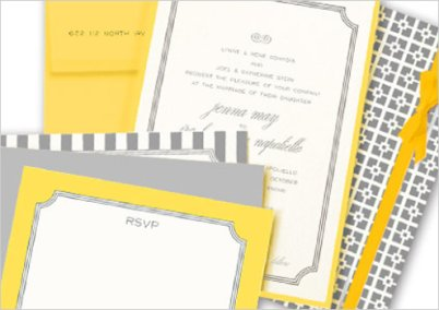 yellow and gray invitations 2
