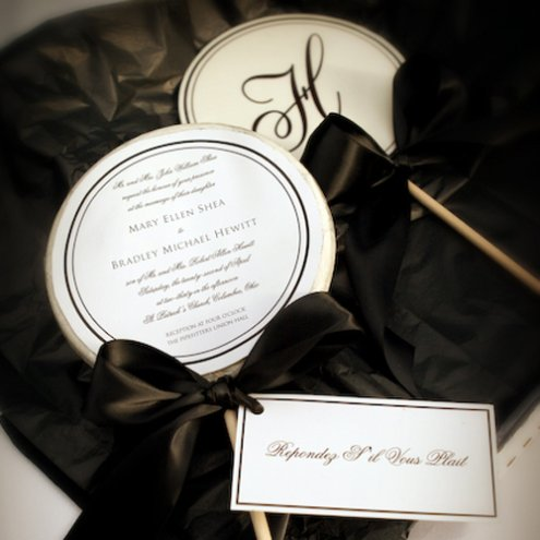 EDIBLE WEDDING INVITATION
