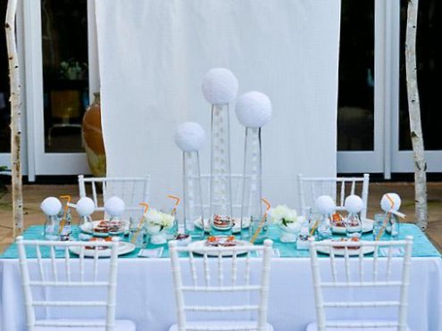 blue and orange wedding 4