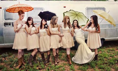 bridesmaids in cowboy boots 4