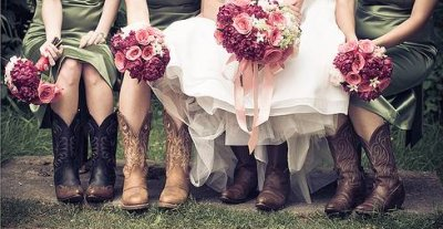 bridesmaids in cowboy boots 6