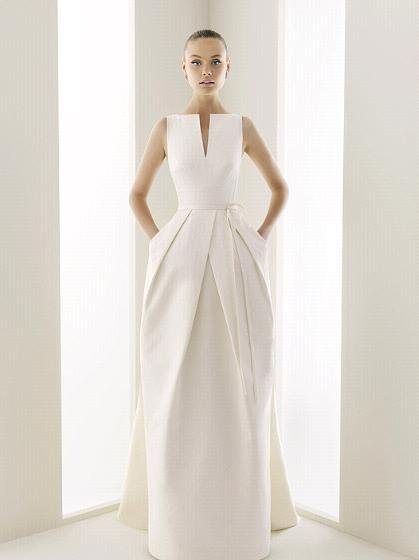 I 39m not crazy about the pleats on this wedding dress but I adore the fact