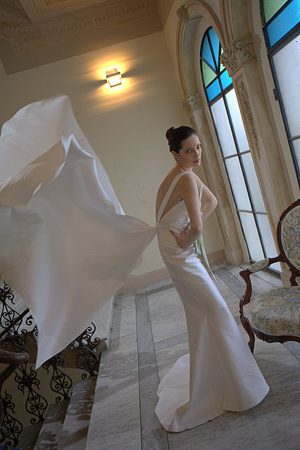wedding gown posture 2