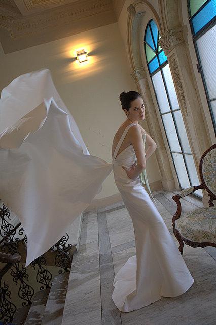 wedding gown posture 2