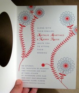 baseball wedding invitation 2