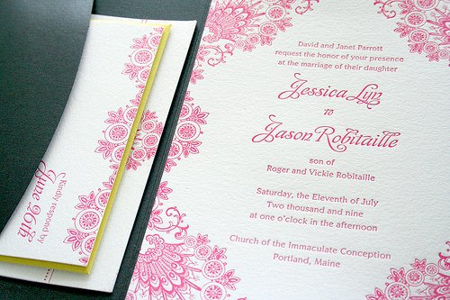 fancy designs for invitations