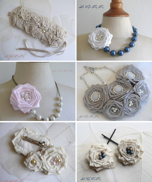 bridal jewelry necklaces roses
