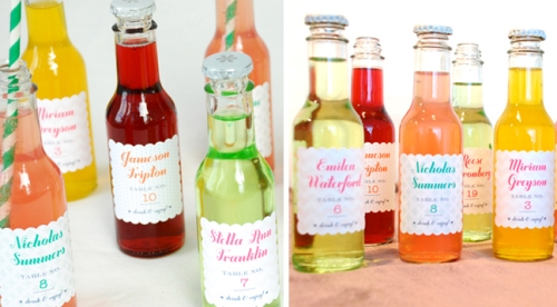 soda wedding favors