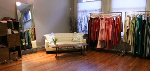 Simple Silhouettes New York Showroom