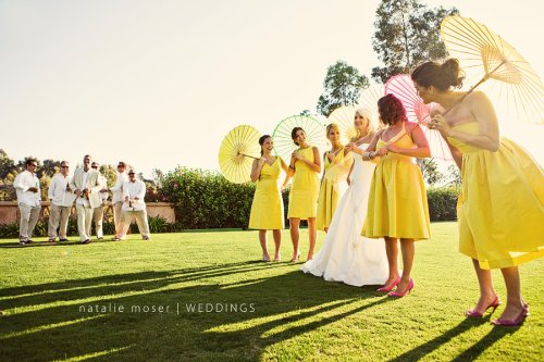 Natalie-Moser-bride-with-bridal-party-parasols-2
