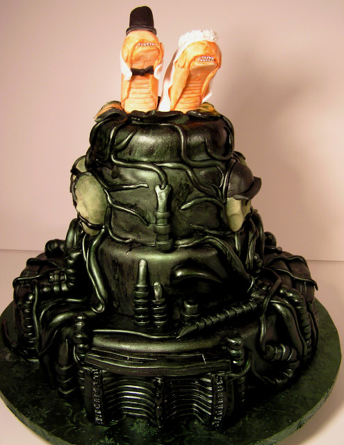 alien wedding cake movie