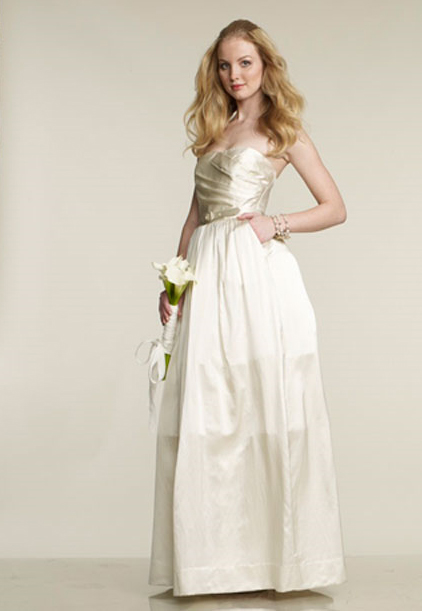 wedding dresses with sleeves and pockets. the limited wedding dress