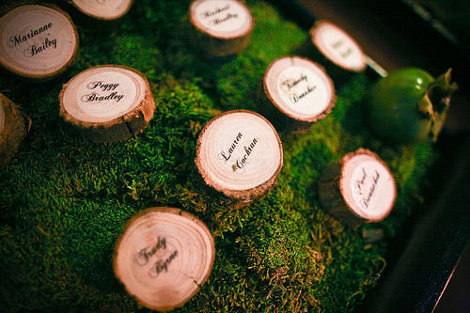 Here are seven ways to use wood in your wedding all of which are super