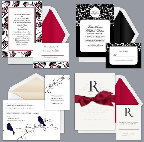 And now wedding invitations by David 39s Bridal shoppable online
