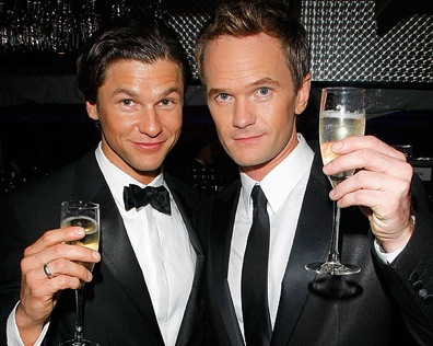 ... years to Neil Patrick Harris and his now official finace, David Burtka.
