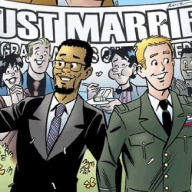 On January 4, Life With Archie #16 will feature the interracial same-sex ...
