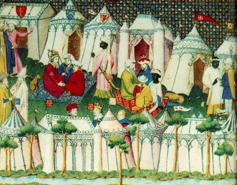 Medieval Pavilions