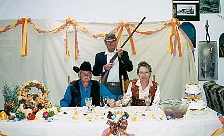 The real shotgun wedding